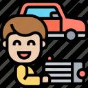 radiator, heat, cooling, engine, automobile