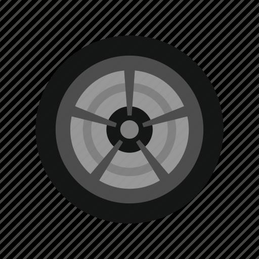 auto, car, rubber, sport, tire, transport, wheel icon