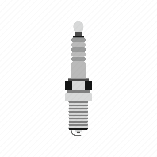 car, electric, engine, ignition, part, plug, spark icon