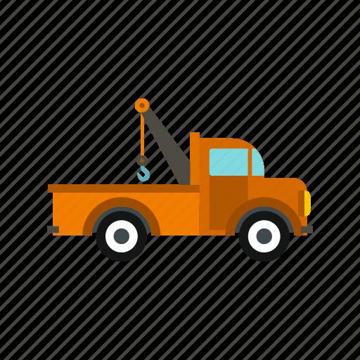 auto, car, help, repair, service, tow, truck icon