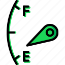 car, fuel, indicator, part, vehicle icon