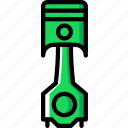 car, part, piston, vehicle icon
