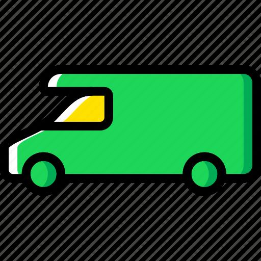 campervan, car, part, vehicle icon