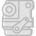 car, engine, part, vehicle icon