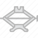 car, jack, part, vehicle icon