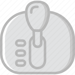 automatic, car, gear, part, shift, vehicle icon