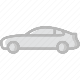 car, coupe, part, vehicle icon