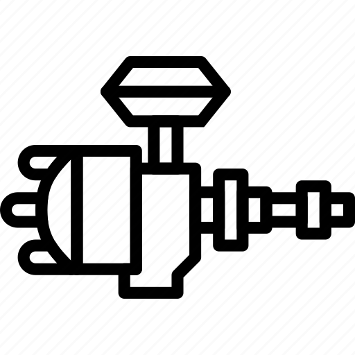 car, distributor, part, vehicle icon