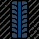 car, part, tire, vehicle icon