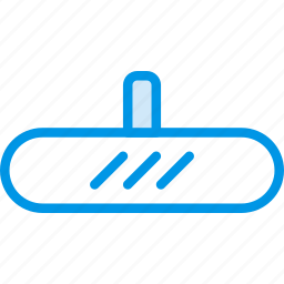 car, mirror, part, vehicle icon