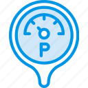 car, part, pressure, vehicle icon