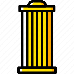 car, filter, oil, part, vehicle icon
