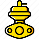 car, external, part, vehicle, wastegate icon