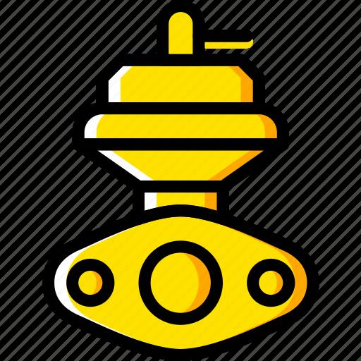 car, external, part, vehicle, wastegate icon