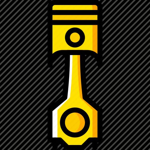 car, part, piston, vehicle icon
