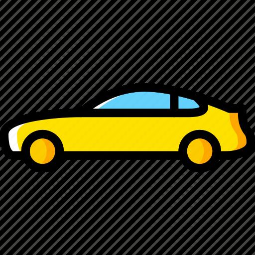 car, coupe, part, vehicle icon