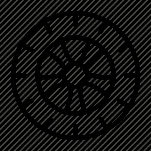 Alluminum, auto, car, disc, part, tire, wheel icon - Download on Iconfinder