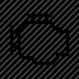 block, engine icon