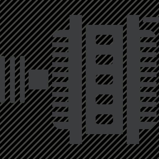 alternator, auto, automobile, car, equipment, part, vehicle icon