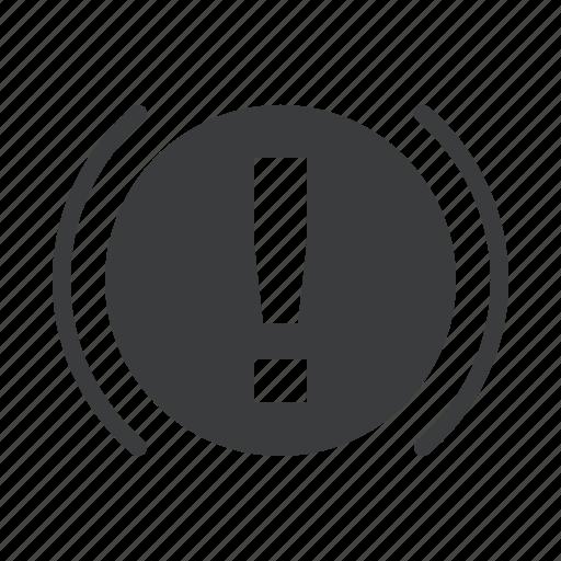 brake, car, hand, indicator, parking, signal, warning icon