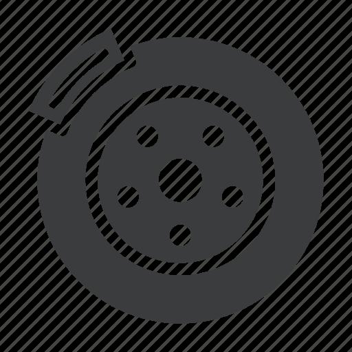 brake, car, disc, drum, part, service, vehicle icon