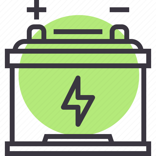 battery, car, charge, energy, part, power, service icon