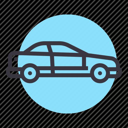 auto, car, coupe, sedan, transport, vehicle icon