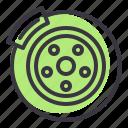 disc, drum, service, car, part, brake, vehicle