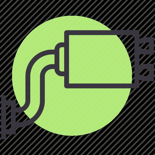 automobile, car, exhaust, part, service, vehicle icon