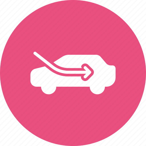ac, air, car, circulation, conditioning, part, recycle icon