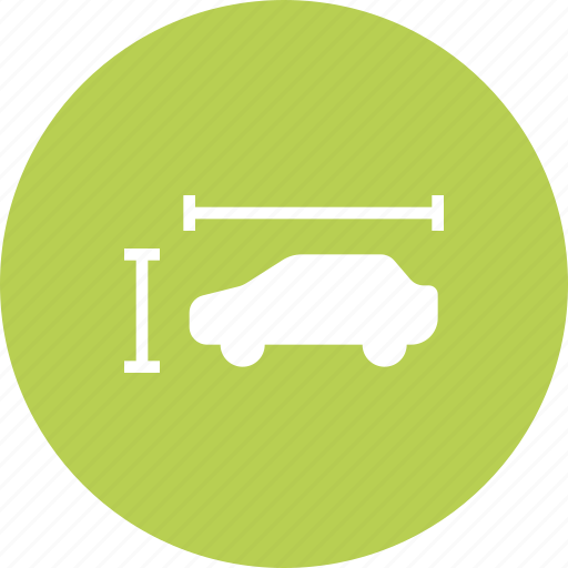 car, dimension, height, length, measurement, width icon