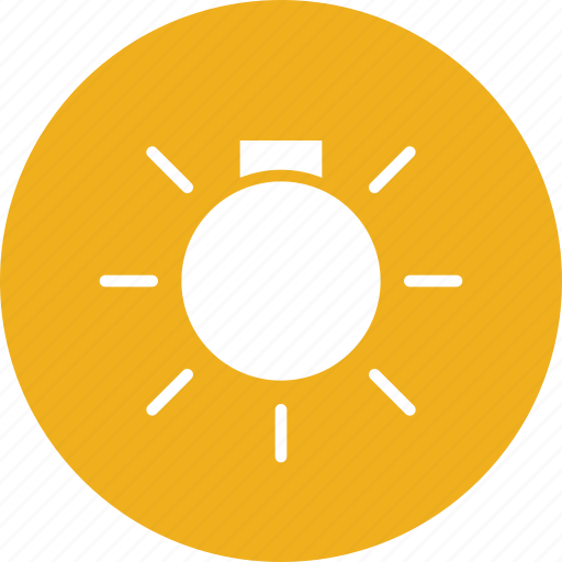 bulb, car, headlamp, headlight, lamp, light, spotlight icon