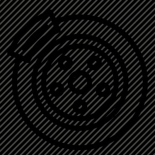Brake, car, disc, drum, part, service, vehicle icon - Download on Iconfinder