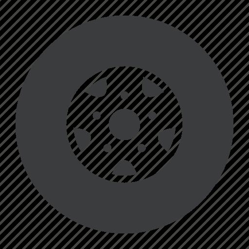alignment, car, part, service, tire, tyre, wheel icon