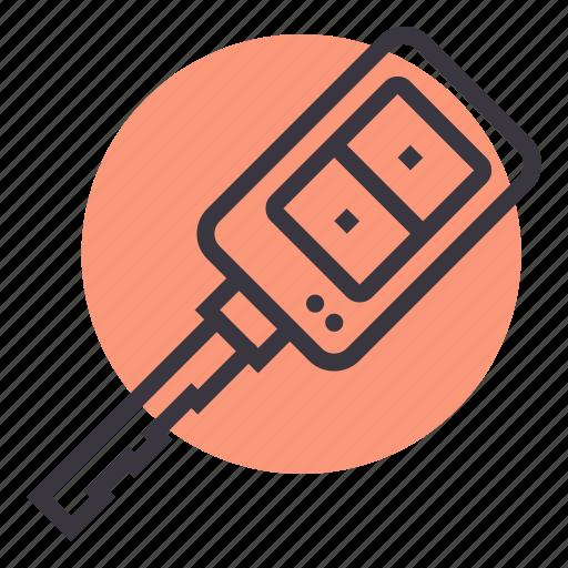 car, key, lock, start icon