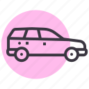 car, muv, sub, suv, transport, urban, vehicle icon