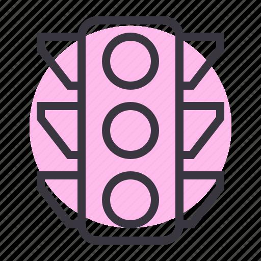 light, road, signal, traffic icon