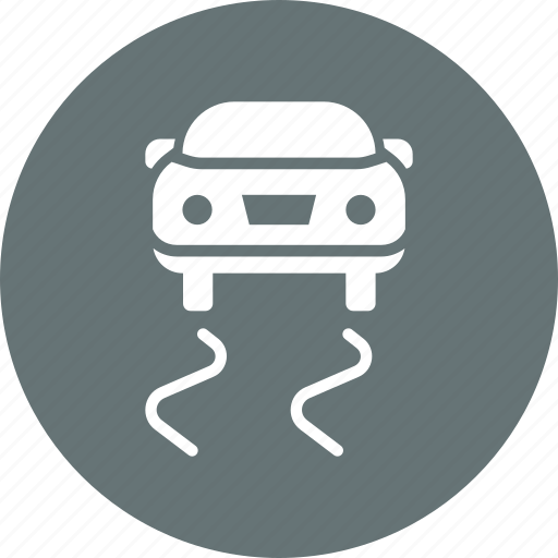 car, control, dashboard, indicator, signal, stability, traction icon