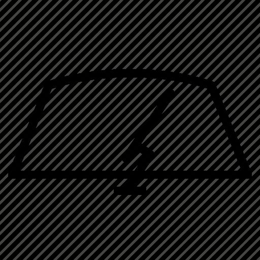 car, clean, rain, windscreen, windshield, wipe, wiper icon