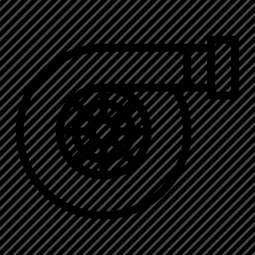 Car, engine, machine, parts, repair, service, turbo icon - Download on Iconfinder