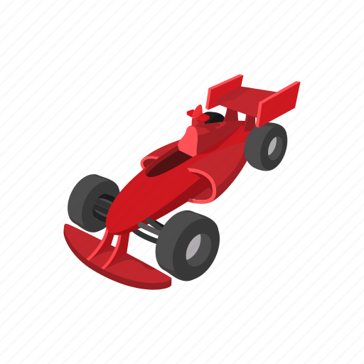 car, cartoon, race, speed, speeding, tires, view icon
