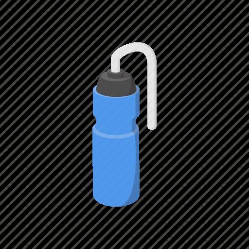 bottle, cartoon, drink, healthy, plastic, sport, water icon