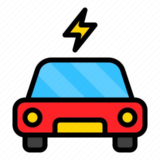 car, electric, electronic, vehicle icon