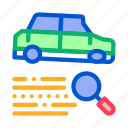 car, classic, crashed, fixing, gear, painting, restoration icon
