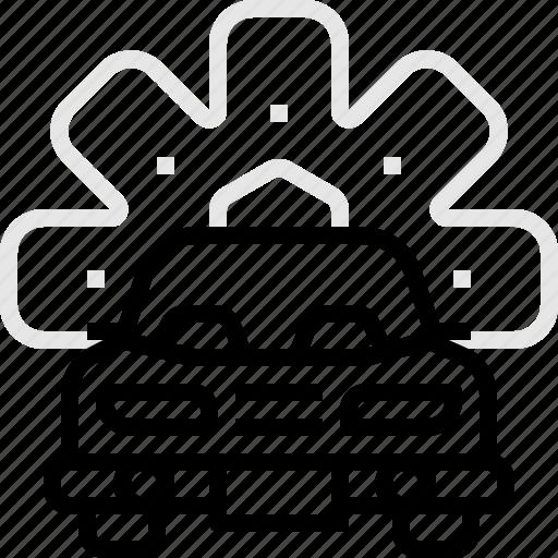 automobile, car, check, garage, motor, repairing, service icon