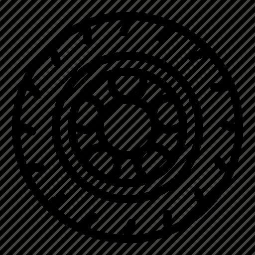 Car, rim, road, tire, wheel icon - Download on Iconfinder