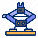car, jack, service, tools, workshop icon