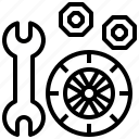 car, cars, repair, transportation, vehicle, wheel, wheels icon
