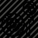 wheels, pump, car, tire, air, inflate, service icon
