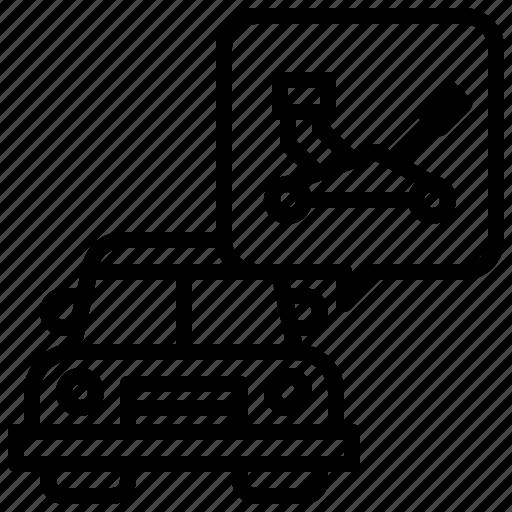 Car, jack, transportation, automobile, service, repair icon - Download on Iconfinder